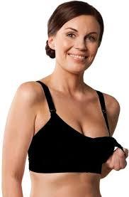 Carriwell podprsenka ke kojení PUSH UP černá XL