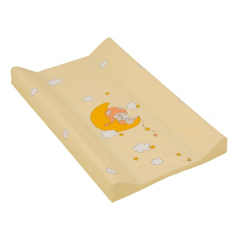 Scarlett přebalovací podložka měkká 80 x 50cm žlutá