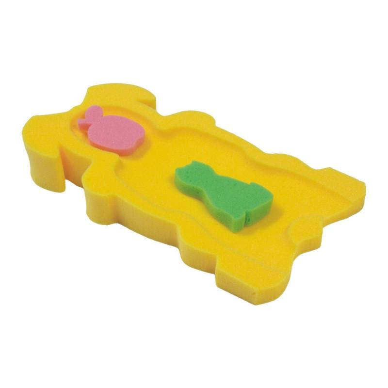 Molitanové lehátko do vaničky žluté