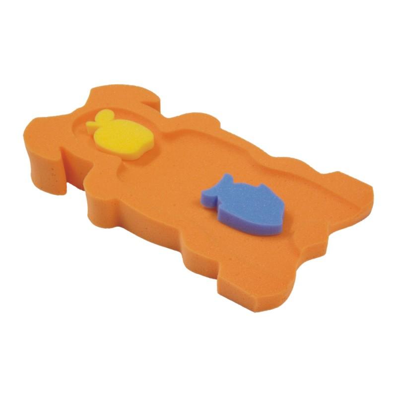 Molitanové lehátko do vaničky oranžové