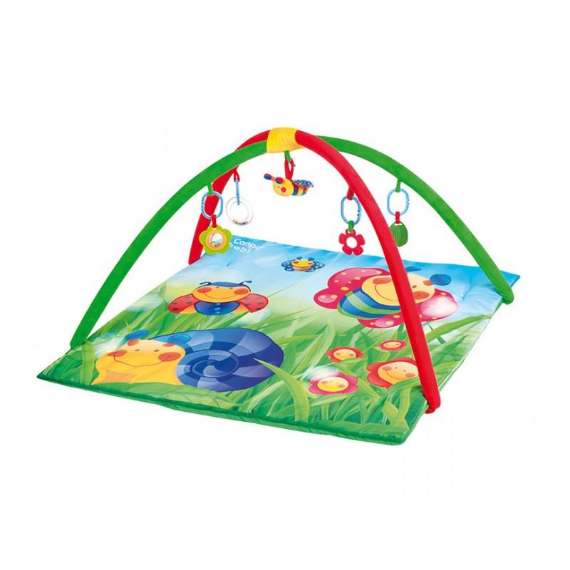 Canpol hrací deka s hrazdičkou Happy Garden
