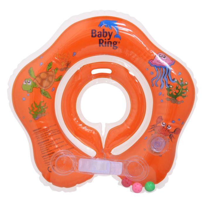 Baby Ring oranžový (Baby Ring kruh na plavání 0-24m (3-15kg) oranžový)