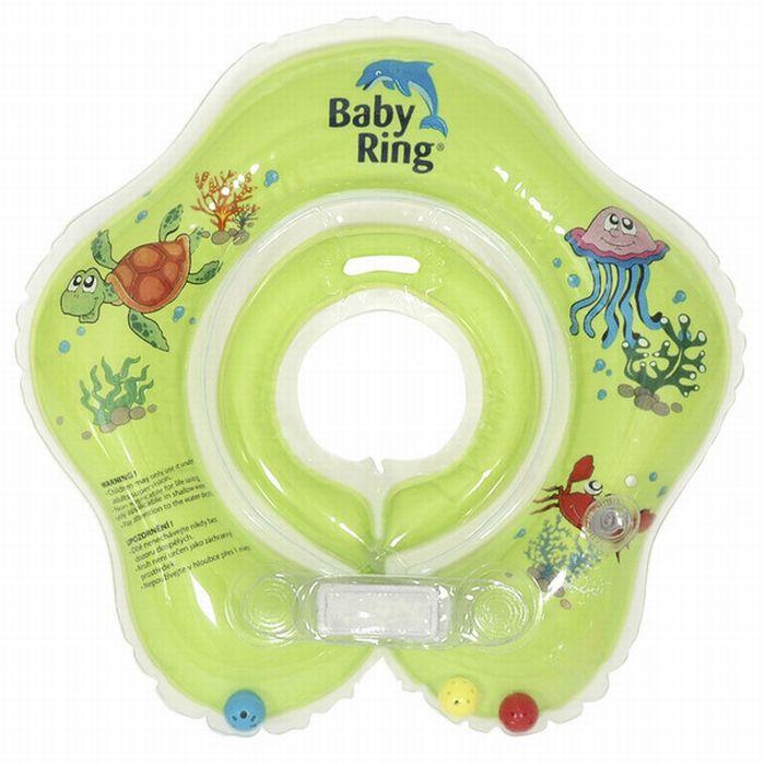 Baby Ring zelený (Baby Ring kruh na plavání 0-24m (3-15kg) zelený)