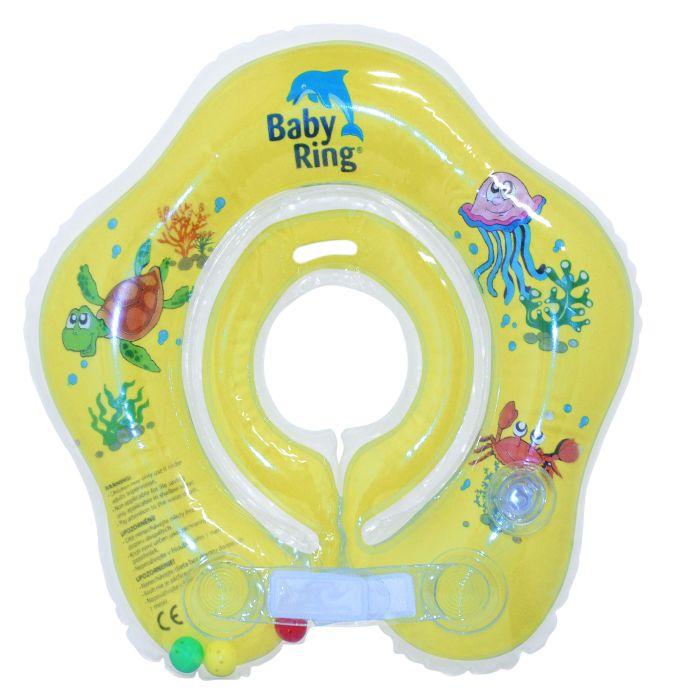 Baby Ring žlutý (Baby Ring kruh na plavání 0-24m (3-15kg) žlutý)