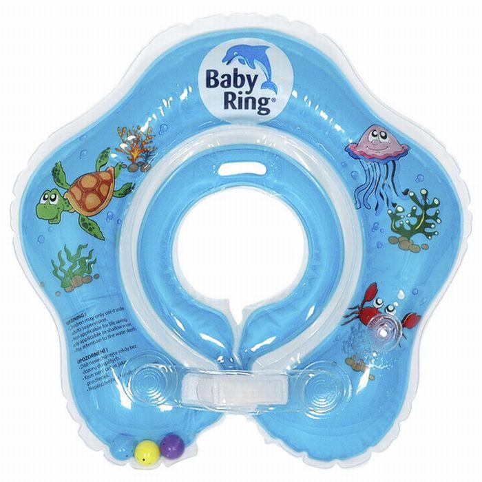 Baby Ring modrý (Baby Ring kruh na plavání 0-36m (6-36kg) modrý)