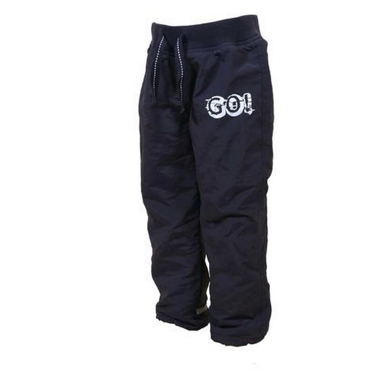 Chlapecké kalhoty zateplené fleecem PIDILIDI fc4063ec31a