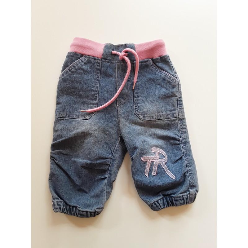 d6e8ffbc42 Trend riflové kalhoty vel. 3m