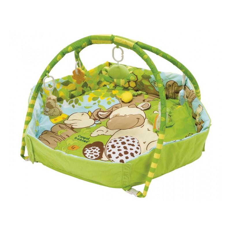 Canpol babies hrací deka Country (Hrací deka se zvýšeným okrajem!)