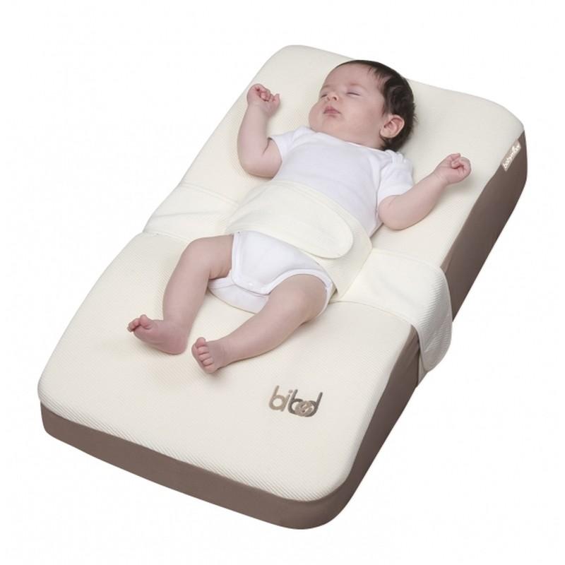 Babymoov podložka Bibed + náhradní potah ZDARMA (Spací podložka snižující riziko tzv. Moro-reflexu!)