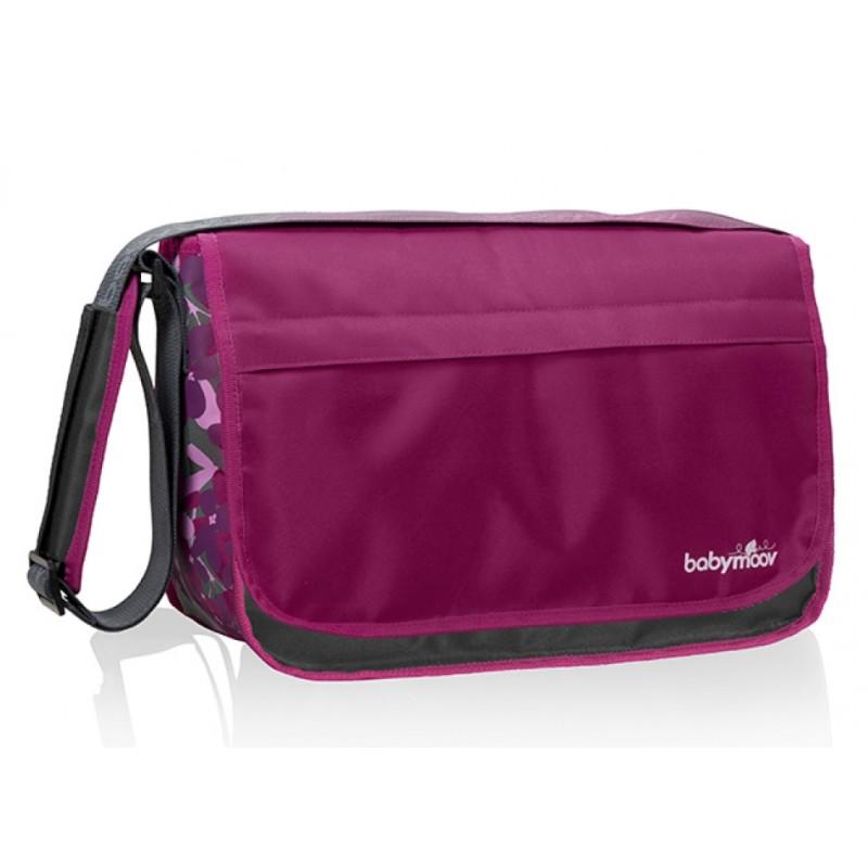 Babymoov přebalovací taška Messenger Bag Hibiscus (Přebalovací taška pro každodenní použití!)