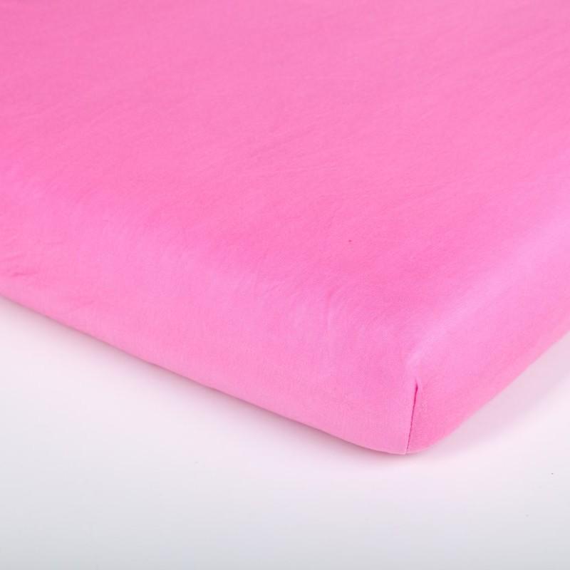 Träumeland prostěradlo Tencel UNI Pink (Napínací prostěradlo pro osvěžující dětský spánek!)