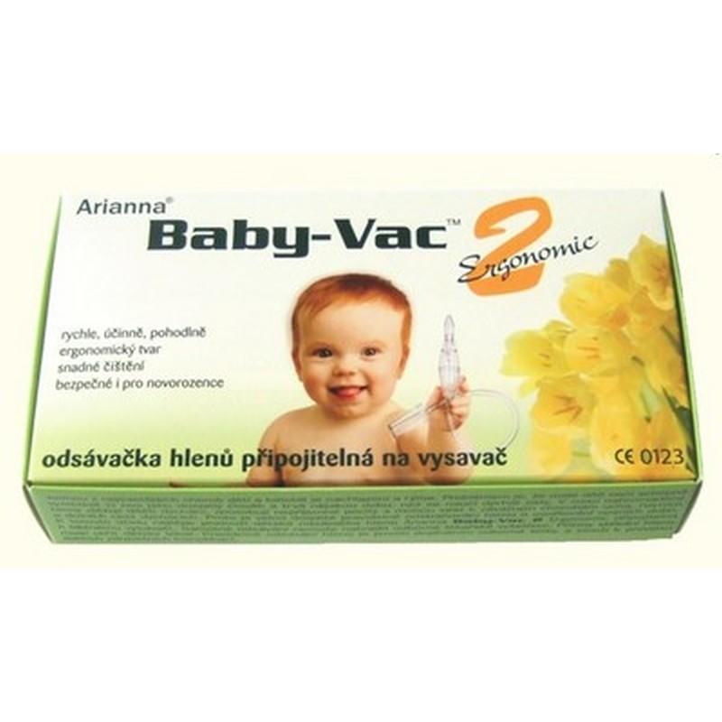 Arianna odsávačka hlenů Baby-Vac 2 Ergonomic (Pomůcka na rychlé odsátí hlenů!)