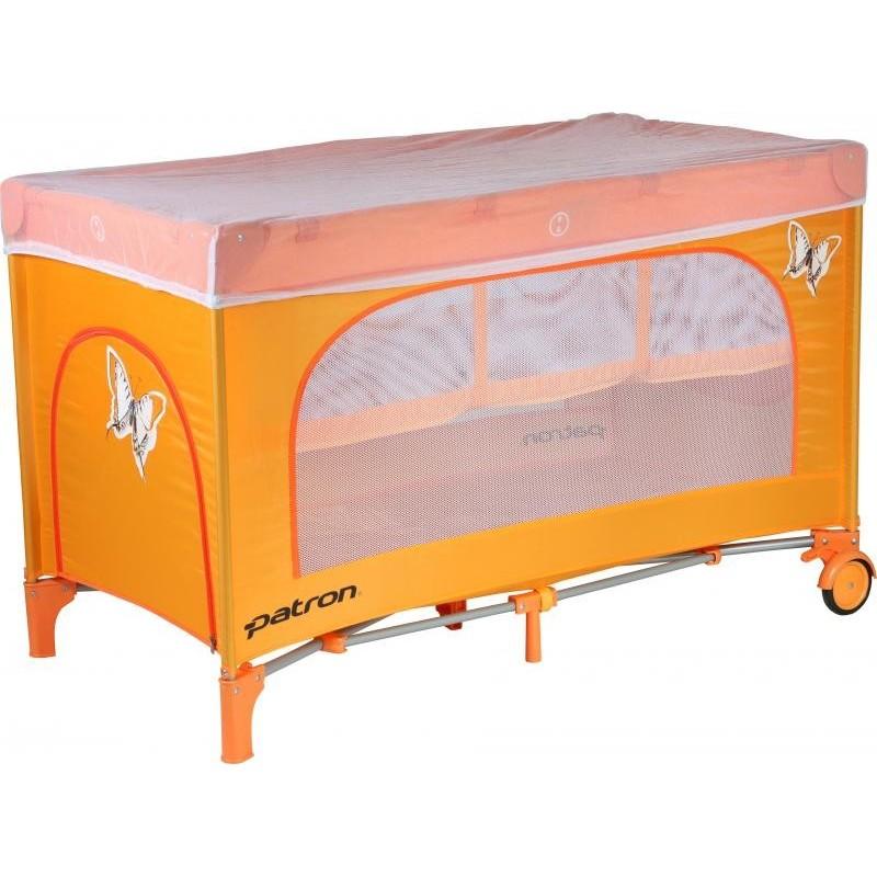 Patron Bohemia postýlka Skippy Plus Butterfly orange
