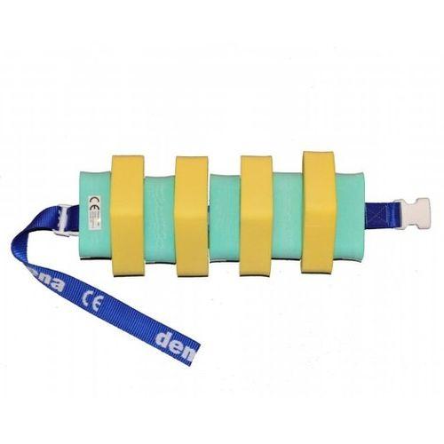 Plavecký pás 600 žluto/zelený