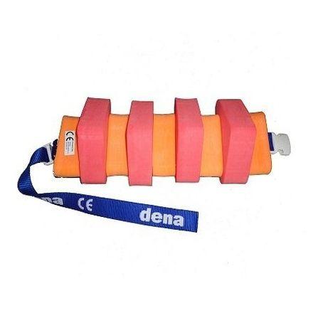 Plavecký pás 600 červeno/oranžový