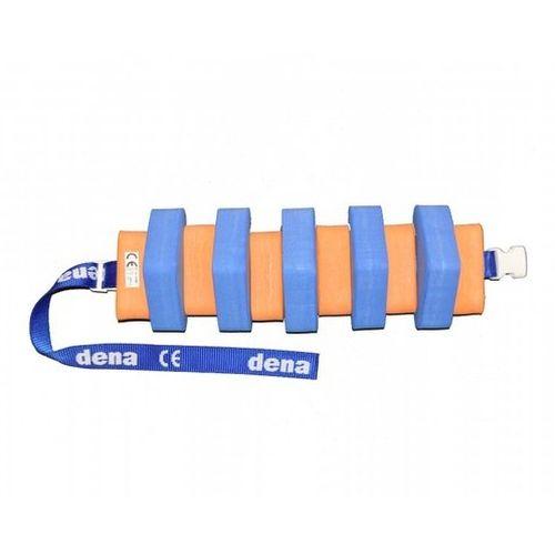Plavecký pás 1000 modro/oranžový