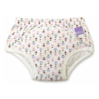 Bambino Mio učící Training Pants Flowers 3r+