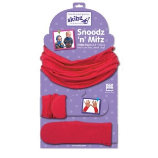 Skibz Snoodz´n´Mitz Red